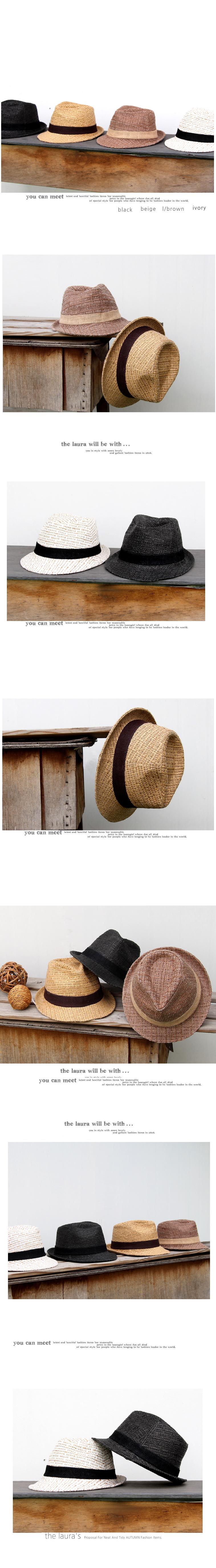 [더로라] 페도라 모자-패션 페도라 H829 - 더 로라, 21,900원, 모자, 밀짚모자